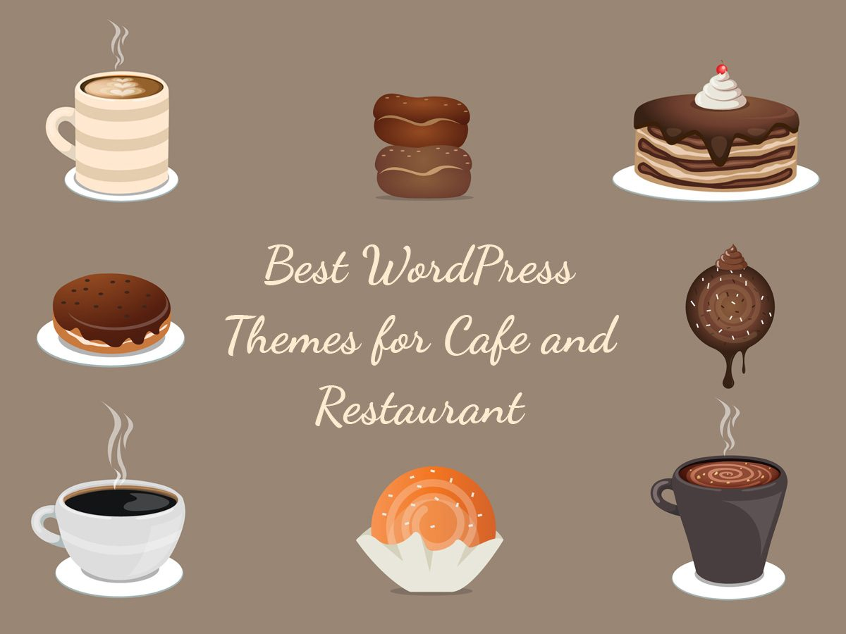A collection of wordpress themes for cafes and restaurants