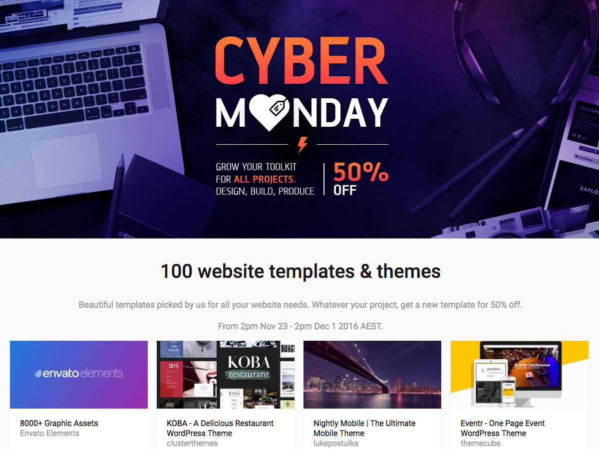 a-special-offer-for-cyber-monday-100-stunning-designs-with-a-50-discount