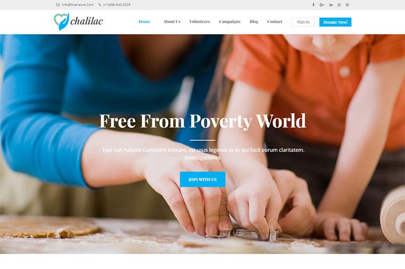 chalilac-wordpress-charity-theme