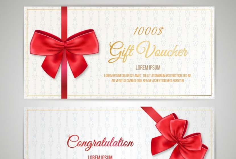 christmas-coupon-pack-free-vector