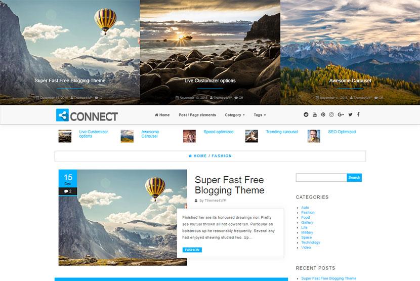 connect-free-blogging-wordpress-theme