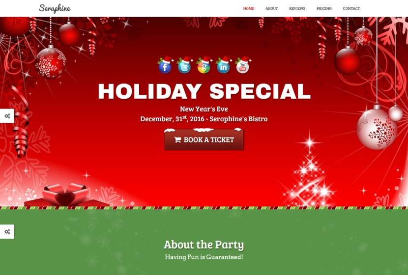 seraphine-christmas-template-landing-page-newsletter