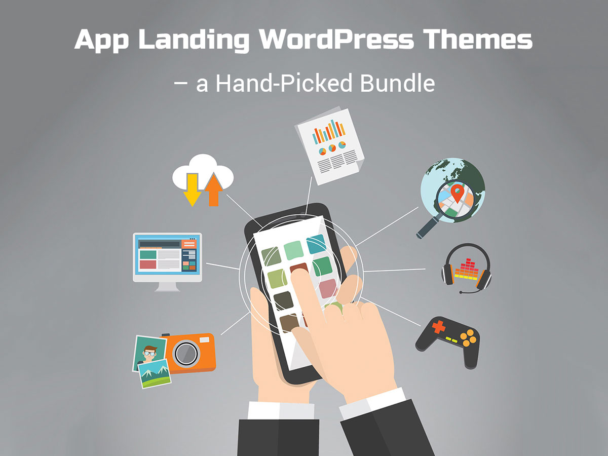 App Landing WordPress Themes - a Hand-Picked Bundle