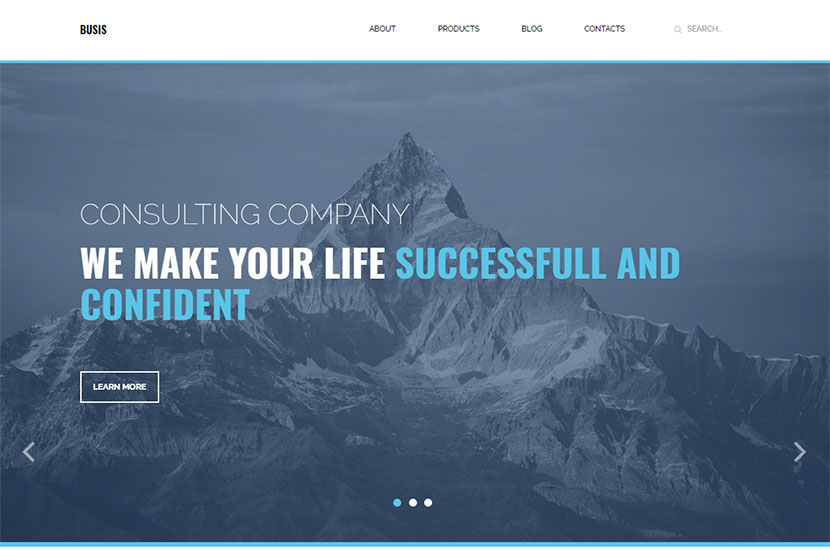 busis-clean-multipurpose-business-corporate-responsive-wordpress-theme