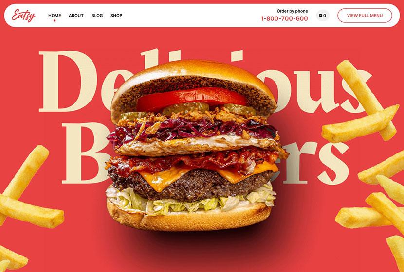 Eatsy Food Delivery WordPress Theme
