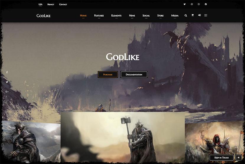 godlike-game-theme-for-wordpress