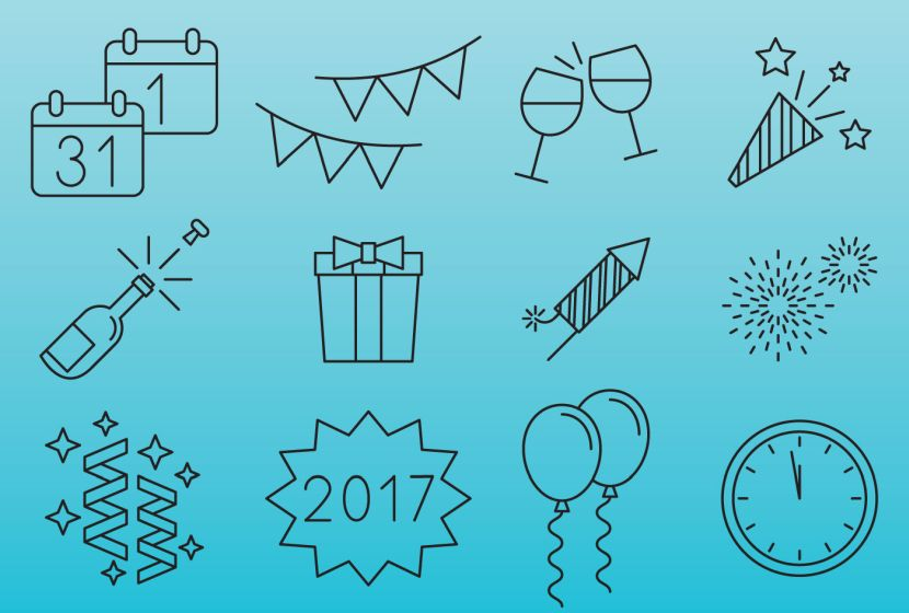 new-year-celebration-icons