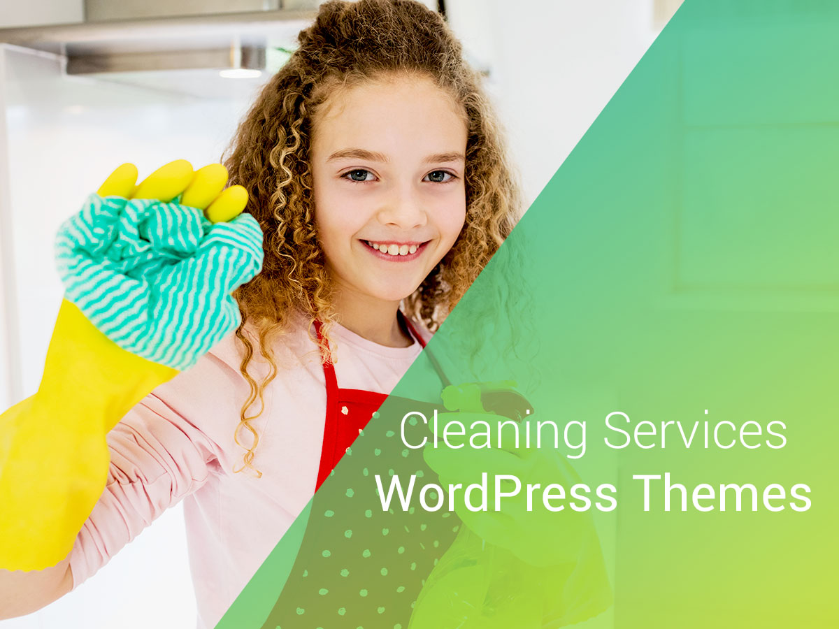 Cleaning Services WordPress Themes for 2017