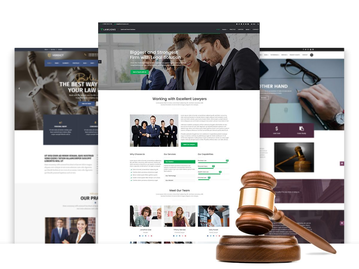 Lawyers and Attorneys WordPress Themes for 2017