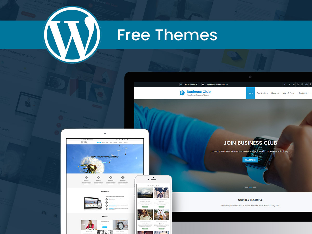 Best free wordpress themes for february 2017 wp daddy best free wordpress themes for february 2017 friedricerecipe Gallery