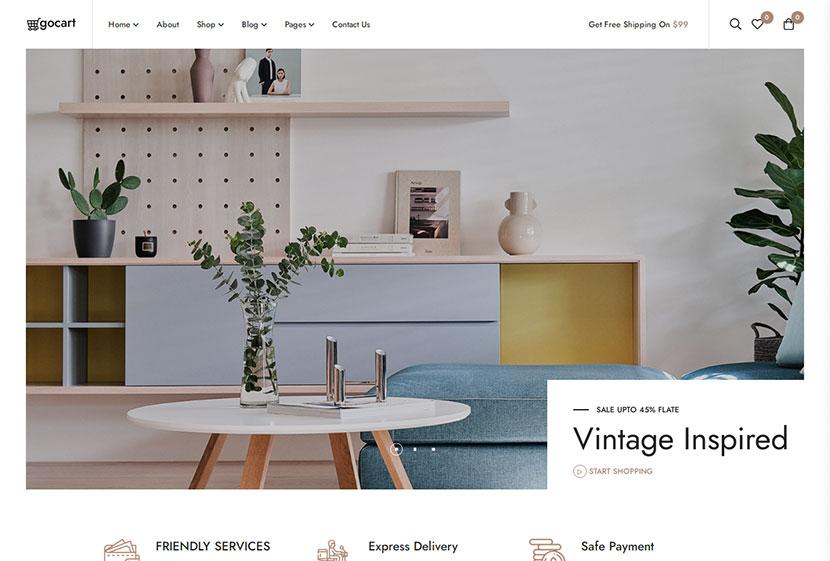Gocart - Multipurpose WooCommerce WordPress Theme