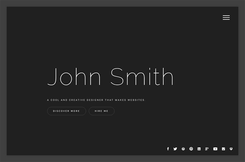 Personal Resume and CV WordPress Themes - WP Daddy