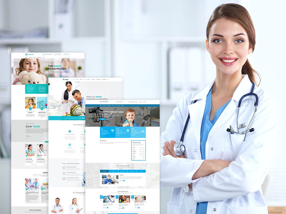 Medical and Health WordPress Themes for February 2017