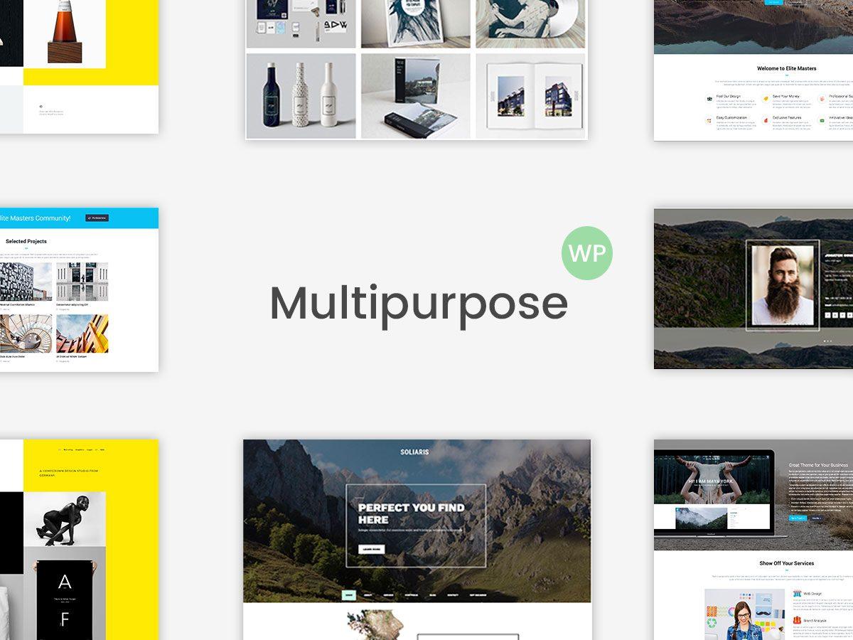 Multi-Concept and Multipurpose WordPress Themes - Top 15