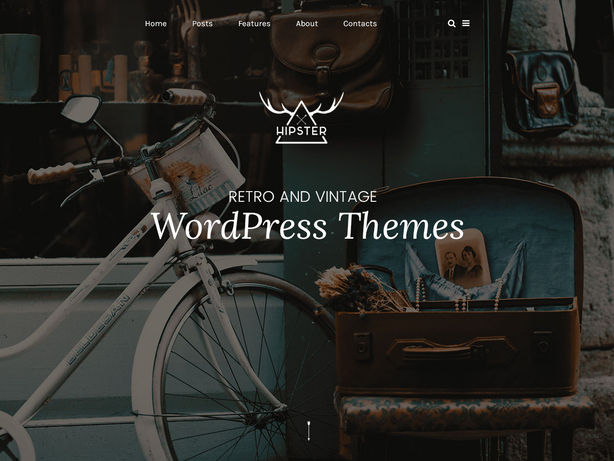Retro and Vintage WordPress Themes for Vintage Fans and Hipsters 2017