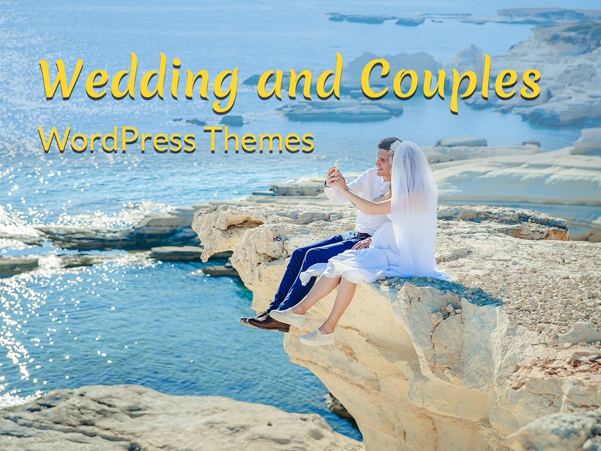 Wedding and Couples WordPress Themes 3