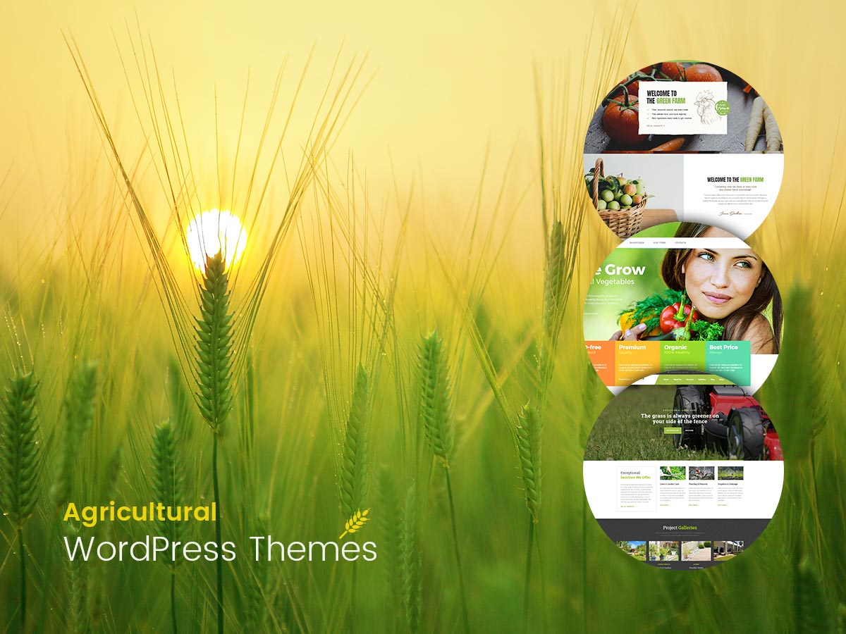 Agricultural WordPress Themes for March 2017