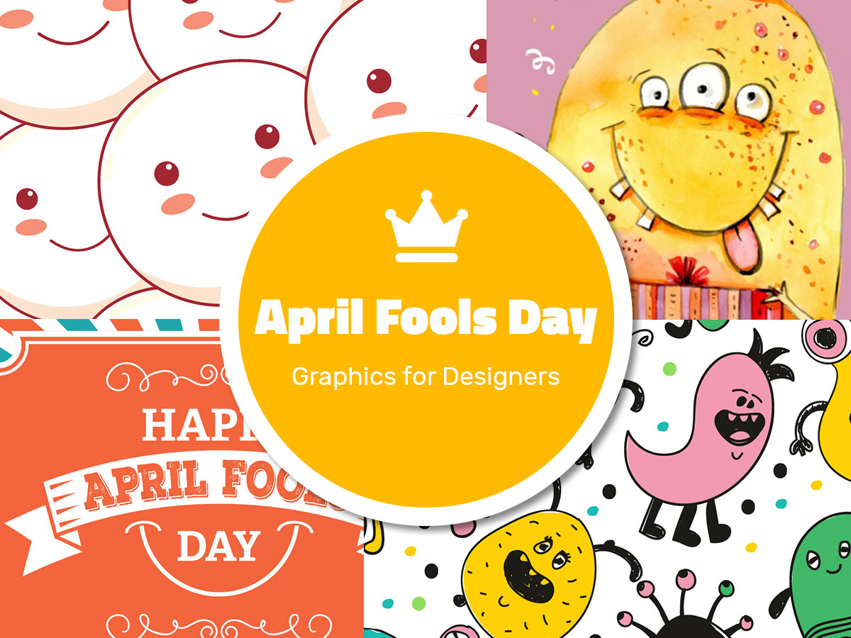 April Fools Day Graphics for Designers