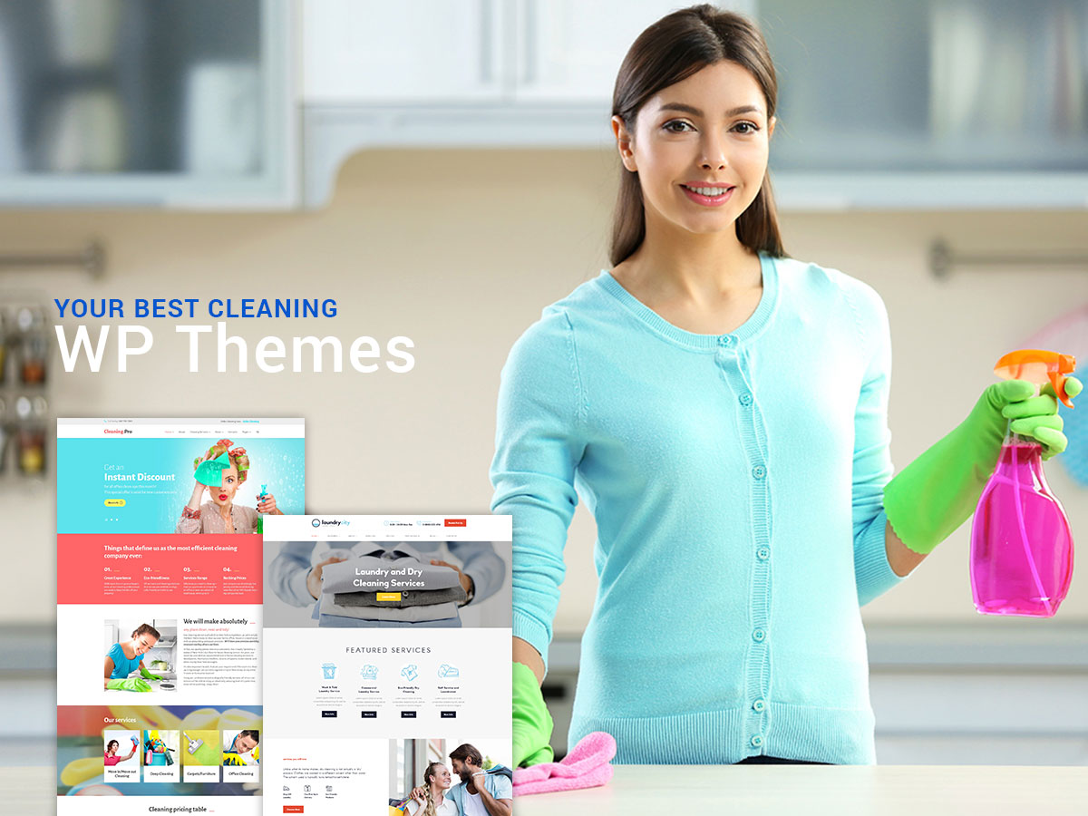 Cleaning and Home Repair Services WordPRess Themes for 2017
