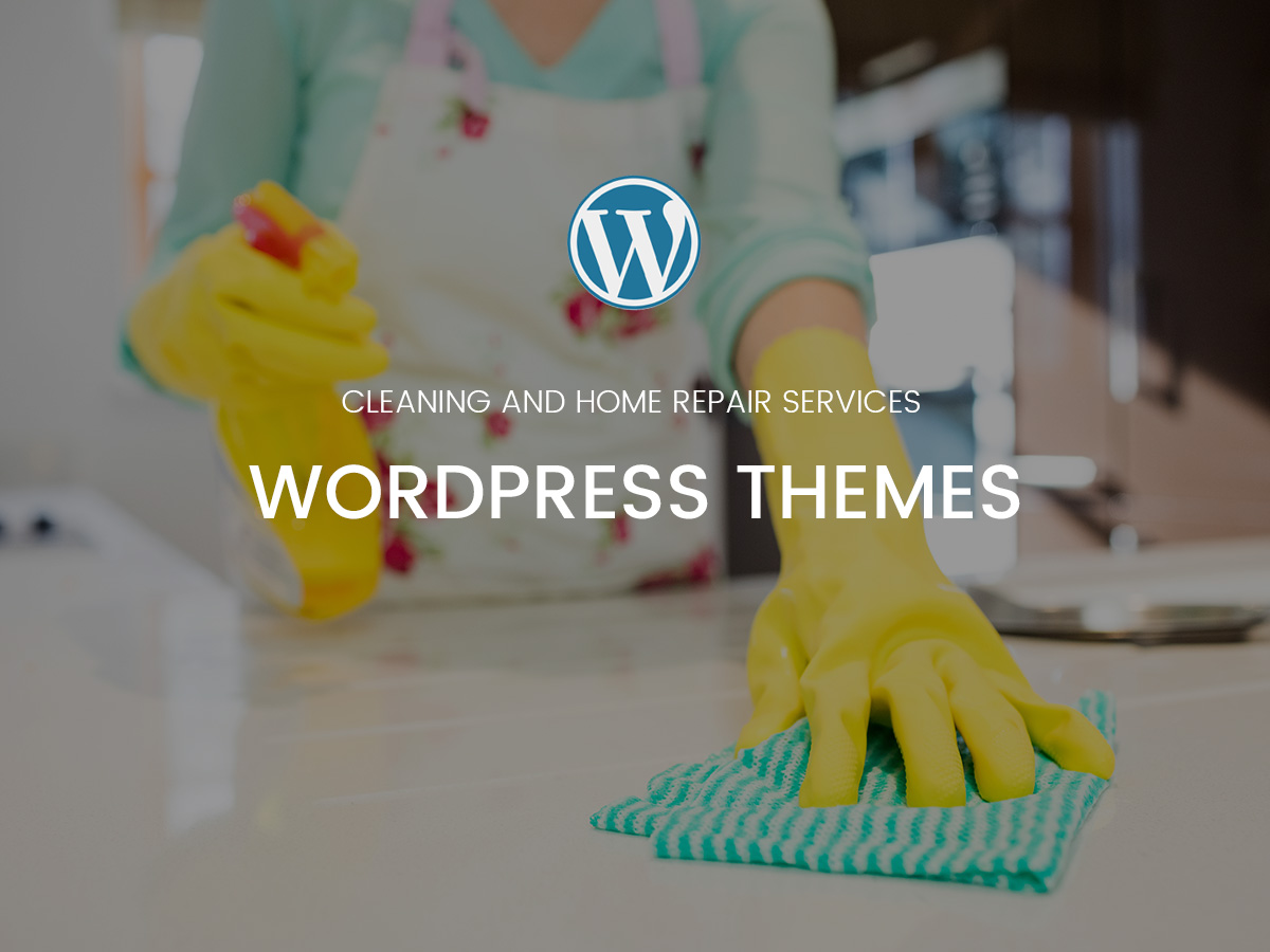 Cleaning and Home Repair Services WordPress Themes