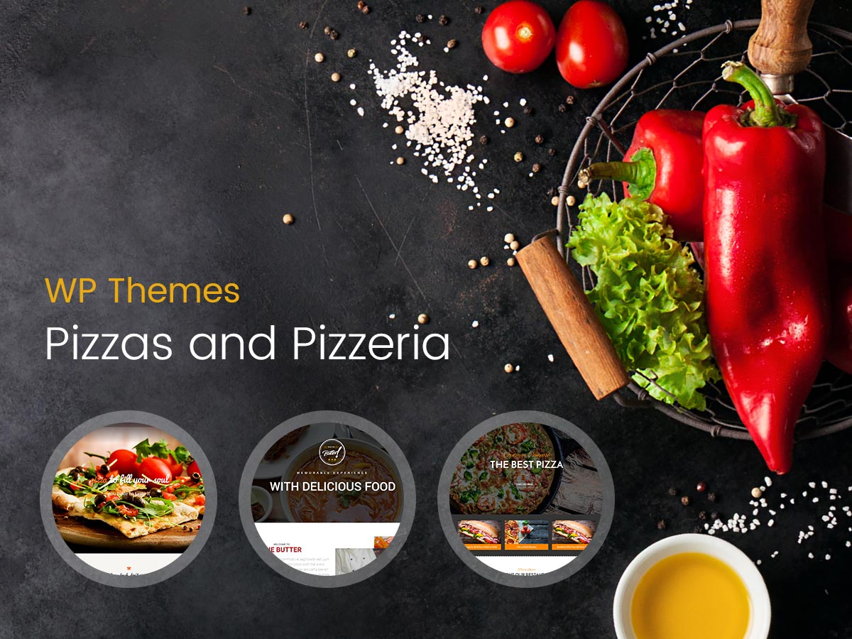 Pizzas and Pizzeria WordPress Themes for 2017