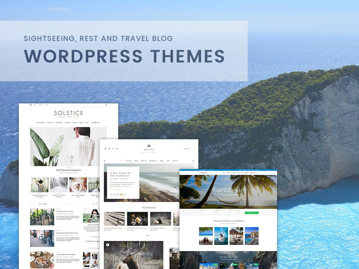 Sightseeing, Rest and Travel Blog WordPress Themes for 2017