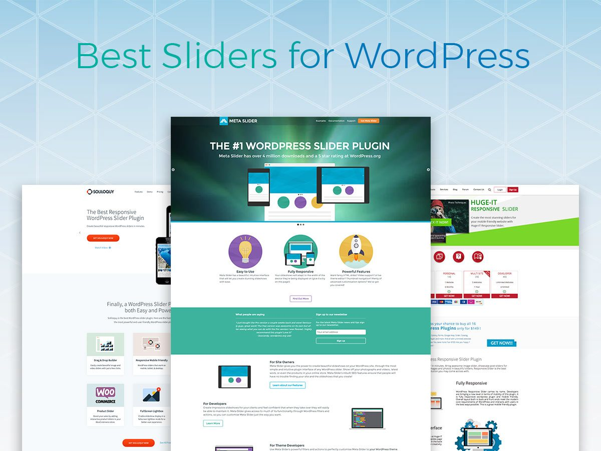Best Free and Premium Slider Plugins for Your Mind-Blowing Online Presentation