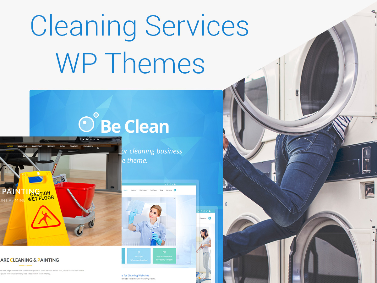 Cleaning and Washing Services WordPress Themes - Top 15