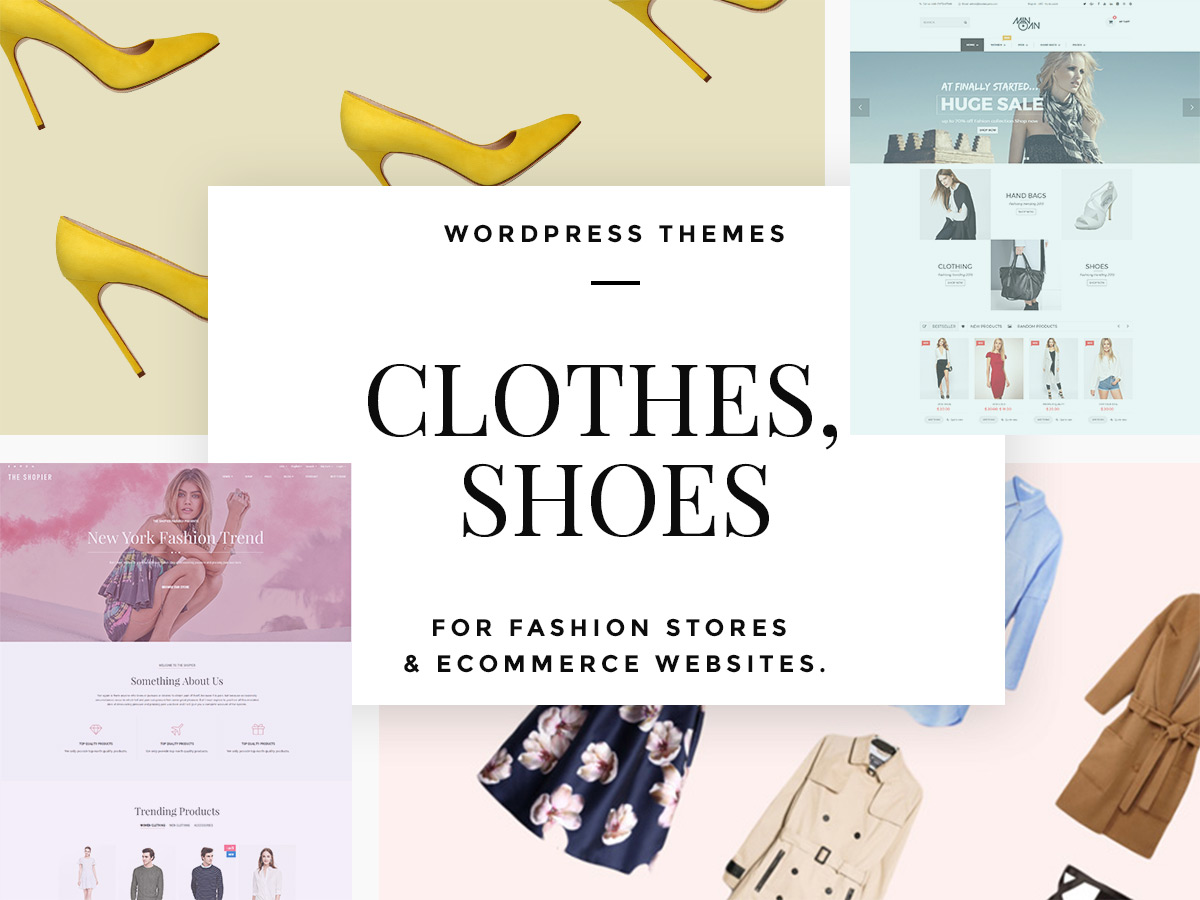 Clothes and Shoes WordPress Themes for Fashion Stores and eCommerce Websites