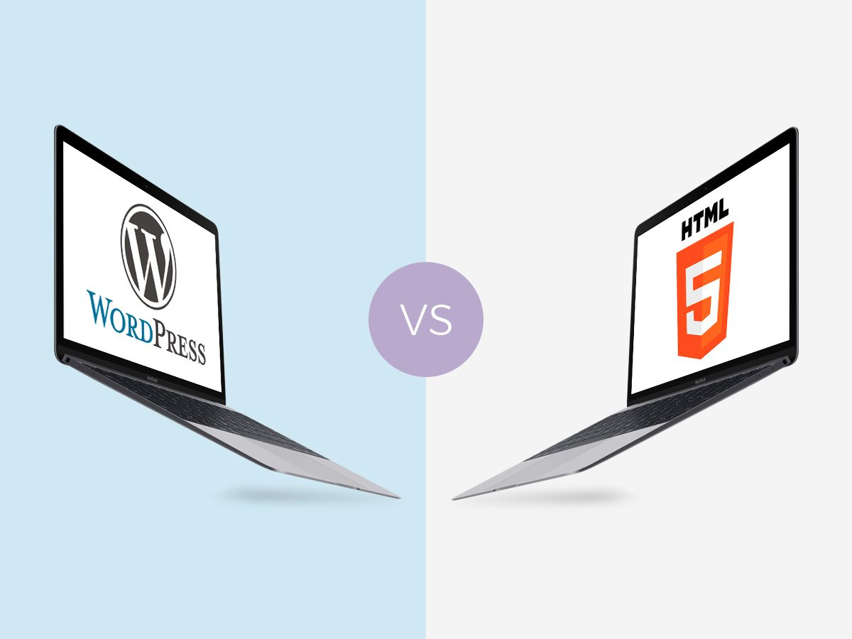 HTML vs WordPress - What to Choose for Your Business Website