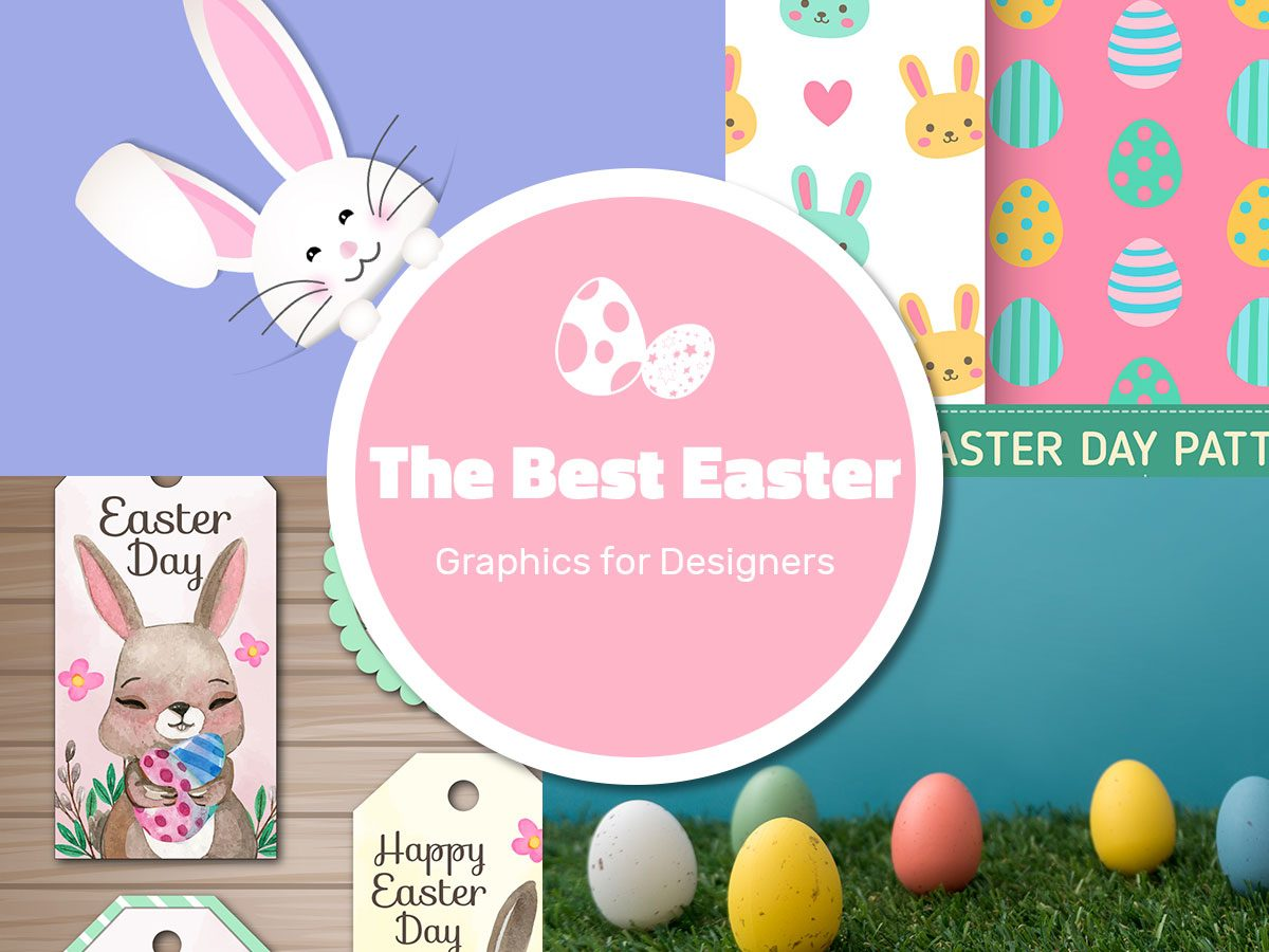 The Best Easter Graphics for Designers in 2017