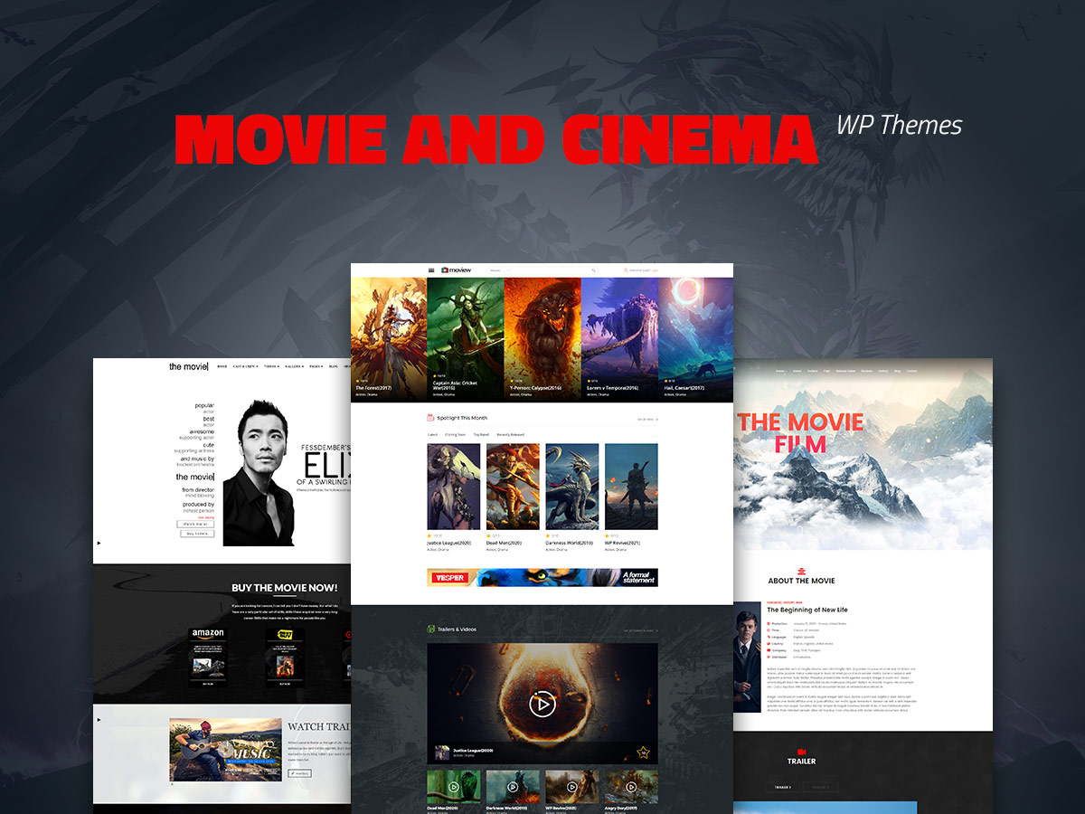 20 Movie and Cinema WordPress Themes for Film Buffs
