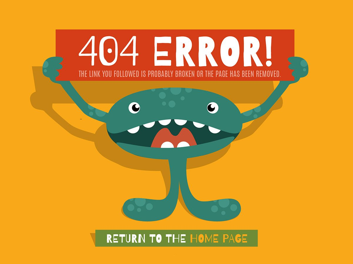 20+ Weirdest and Funniest 404 Error Page Examples to Go By