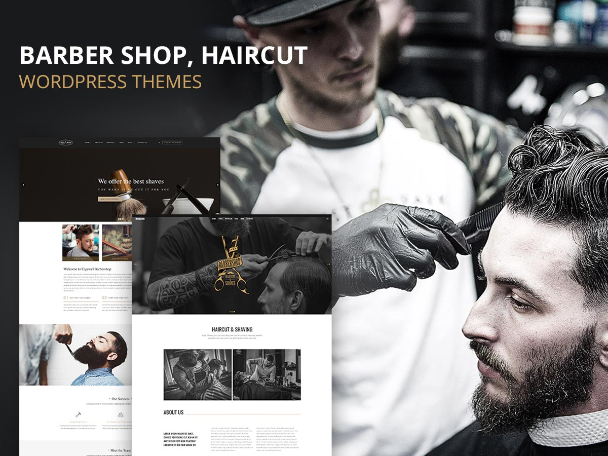 25 Most Comprehensive Barber Shop, Haircut and Hairdo WordPress Themes – May 2017