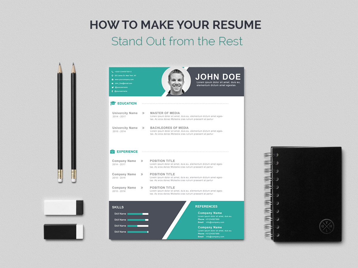 how to make your resume stand out from the rest  a useful guide