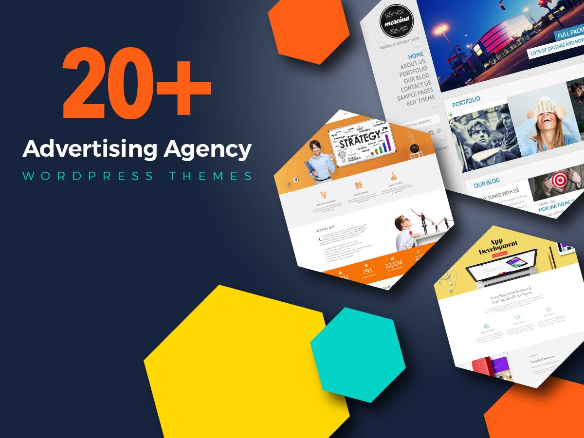 20+ Advertising Agency WordPress Themes for June 2017