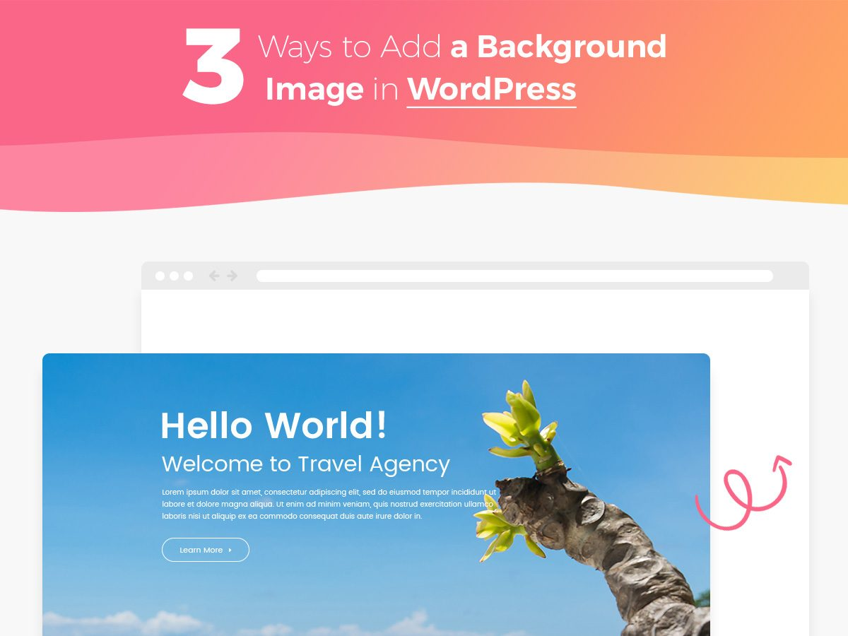 3 Ways to Add a Background Image in WordPress