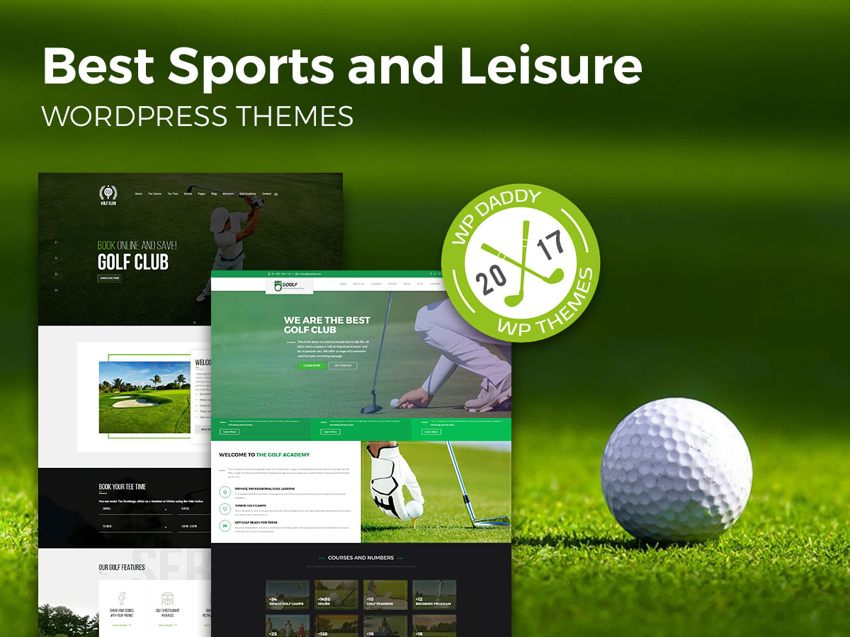 Best Sports and Leisure WordPress Themes (Golf Club, Equestrian, and More)