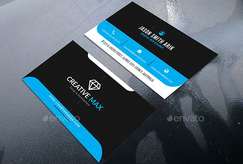 40 graphics items 2017 business cards fonts wp daddy a corporate business card template in 300 dpi resolution print ready format cmyk color the files are layered and well organized as well as available in accmission Images