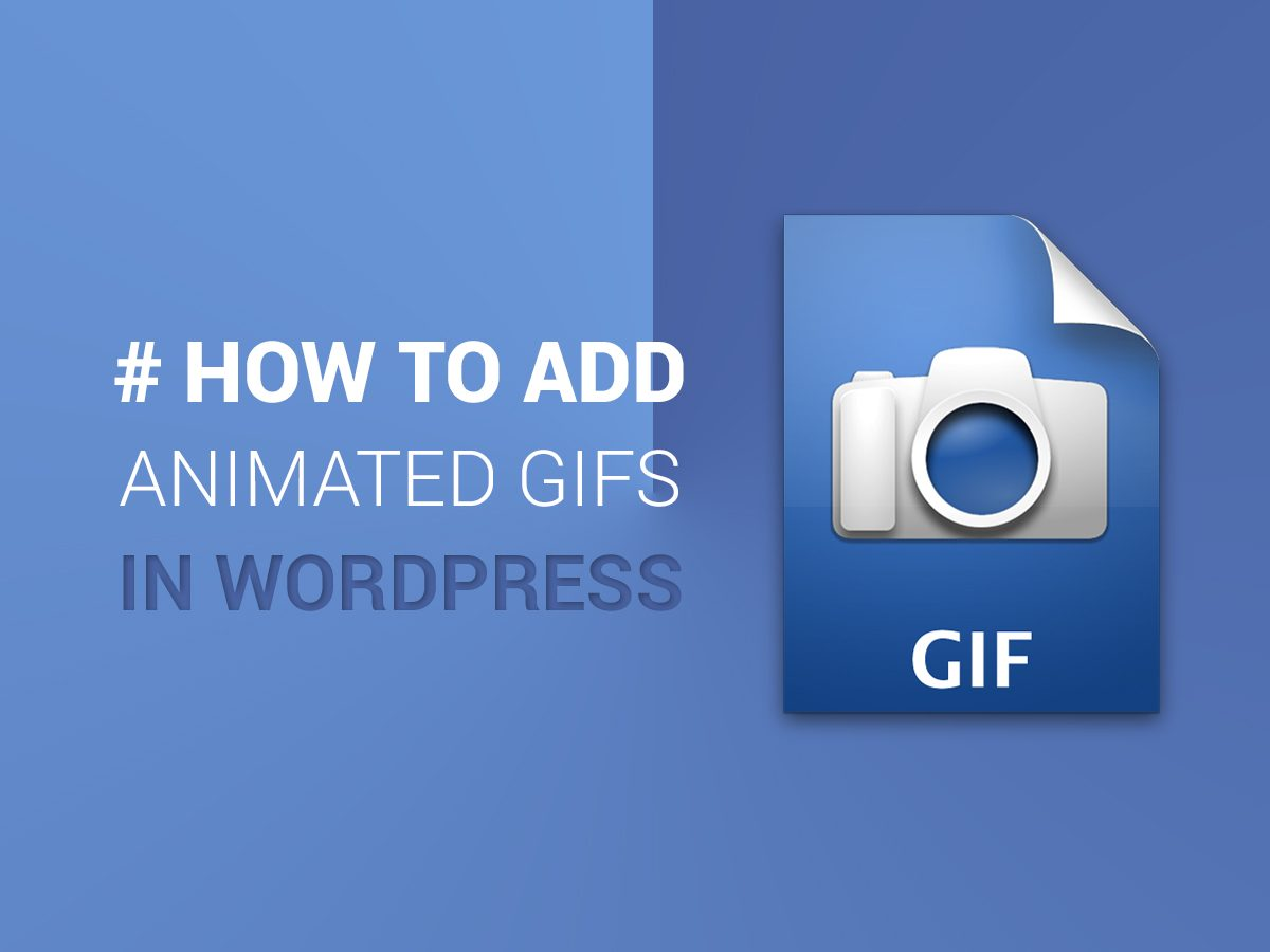 How to Add Animated GIFs in Your WordPress Blog Posts