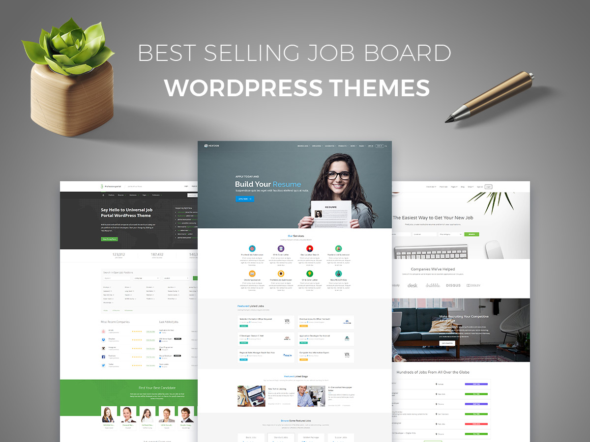 Top 15 Best Selling Job Board WordPress Themes for Job Seekers