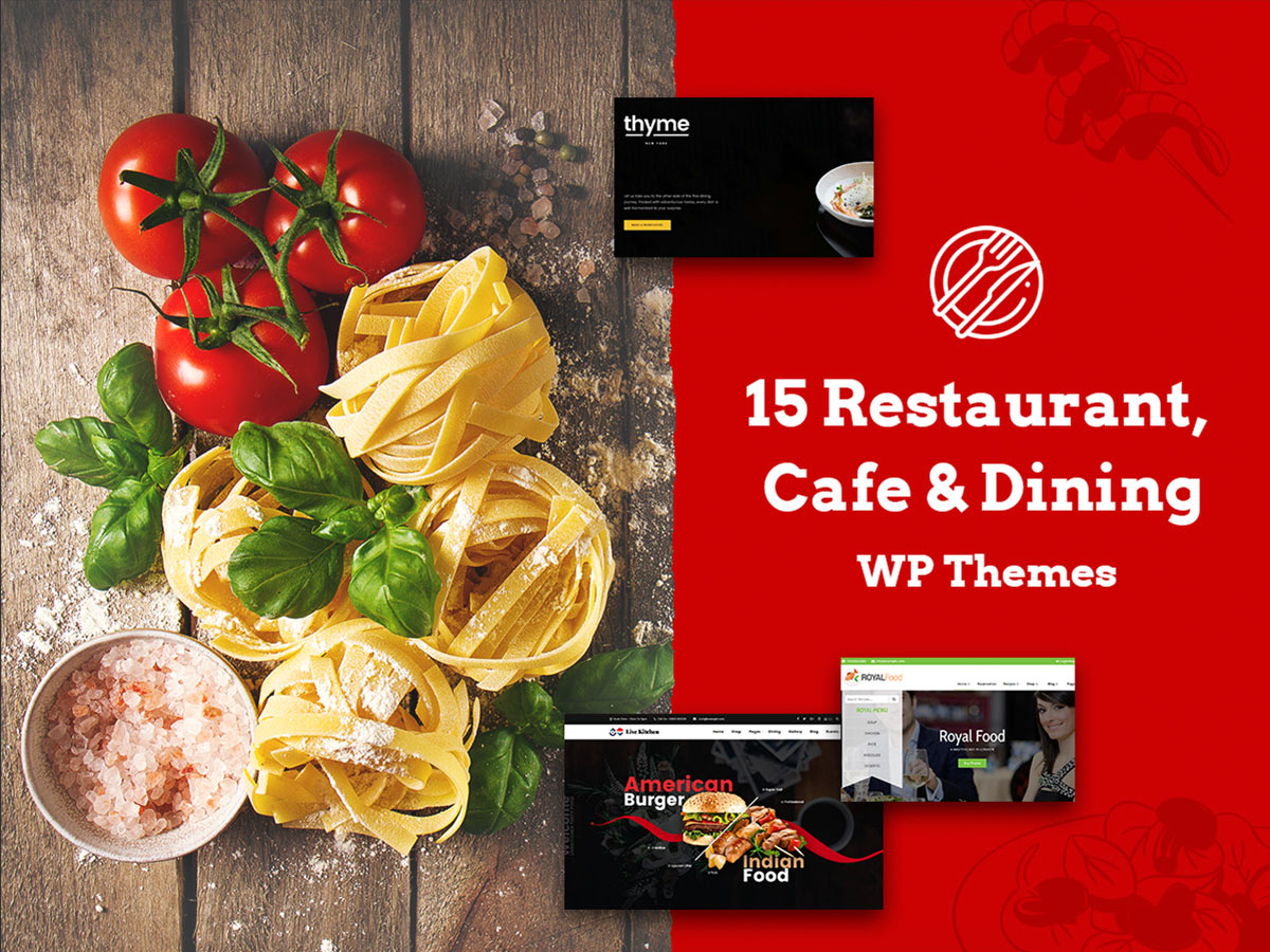 15 Restaurant, Cafe and Dining WordPress Themes for Gourmets and Cooks