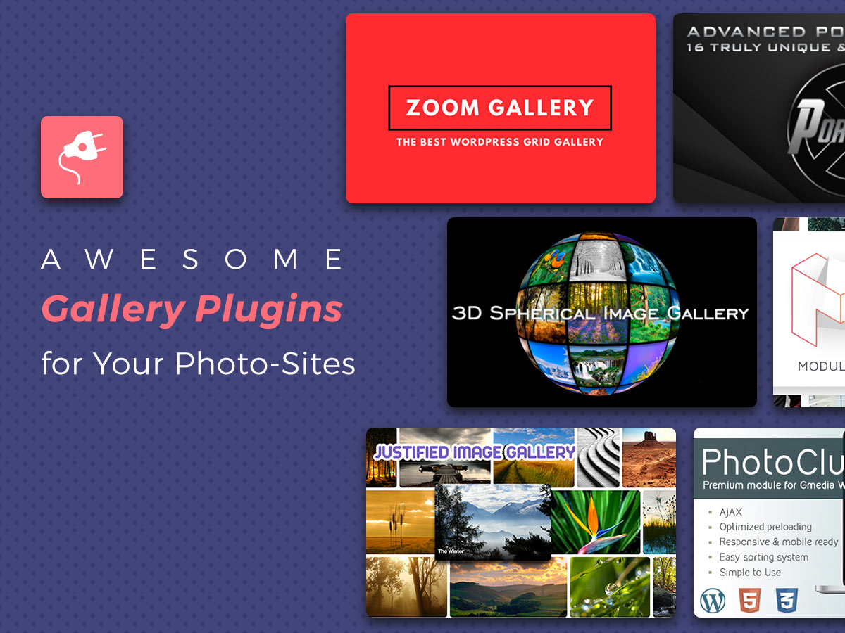 Awesome Gallery Plugins for Your Photo-Sites in 2017 1