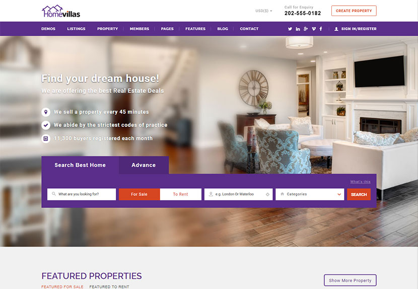 15 Best WordPress Themes to Sell Your Houses and Property - WP Daddy
