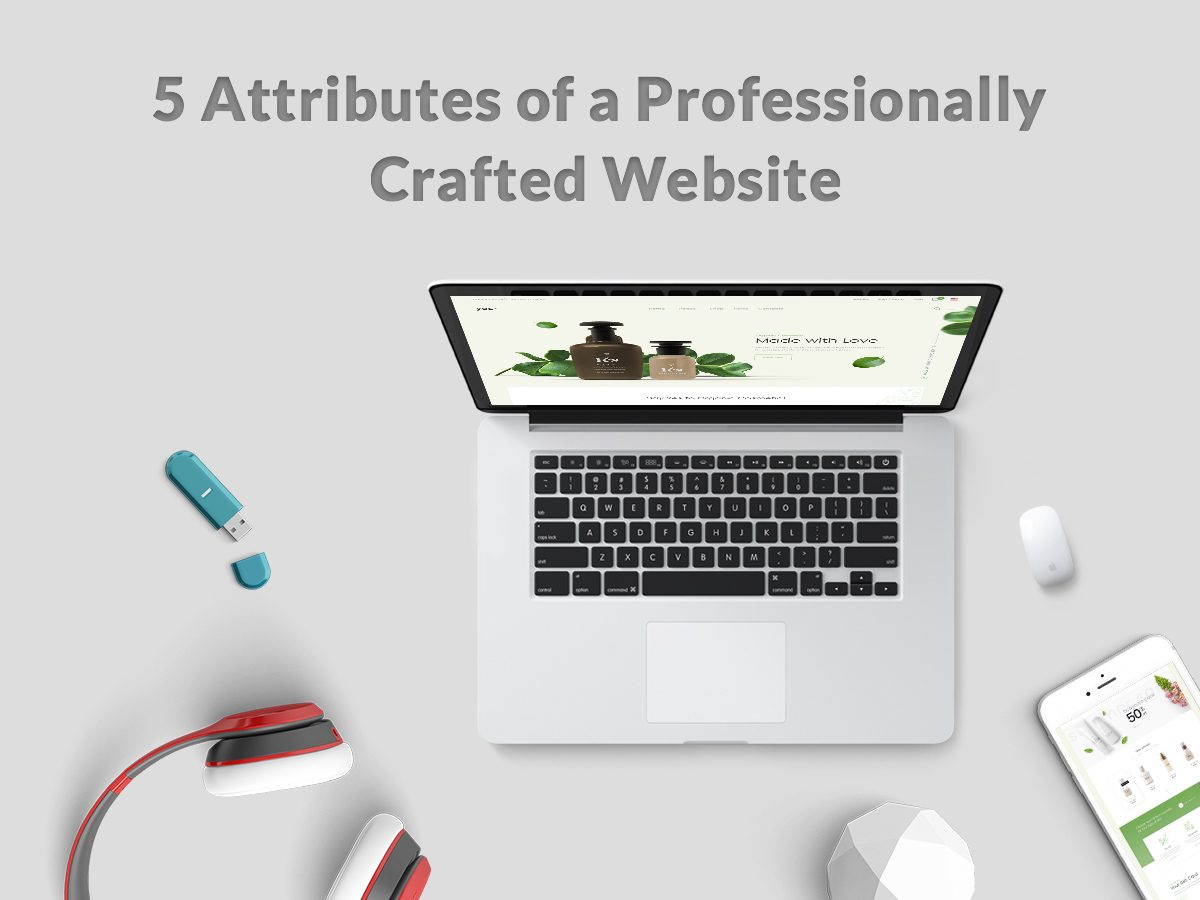 5 Attributes of a Professionally Crafted Website
