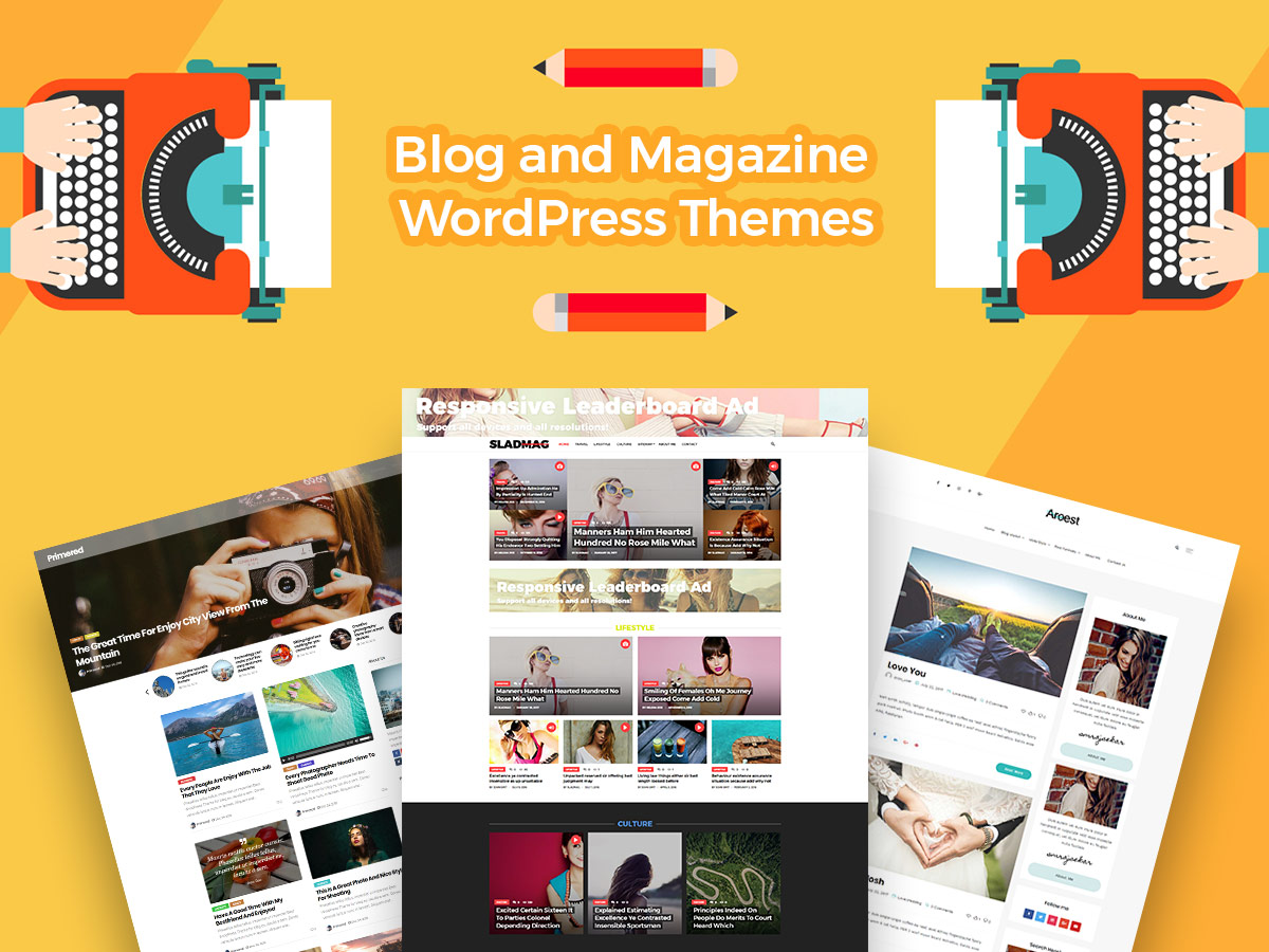 Blog and Magazine WordPress Themes for Your Online Journals and Diaries