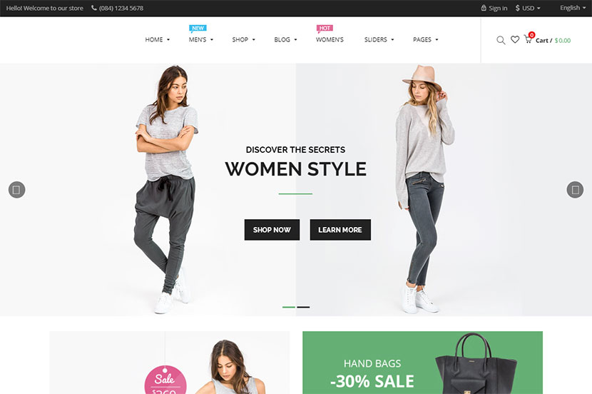 15 Best WordPress Themes for Tailors and Clothes Stores Owners ...