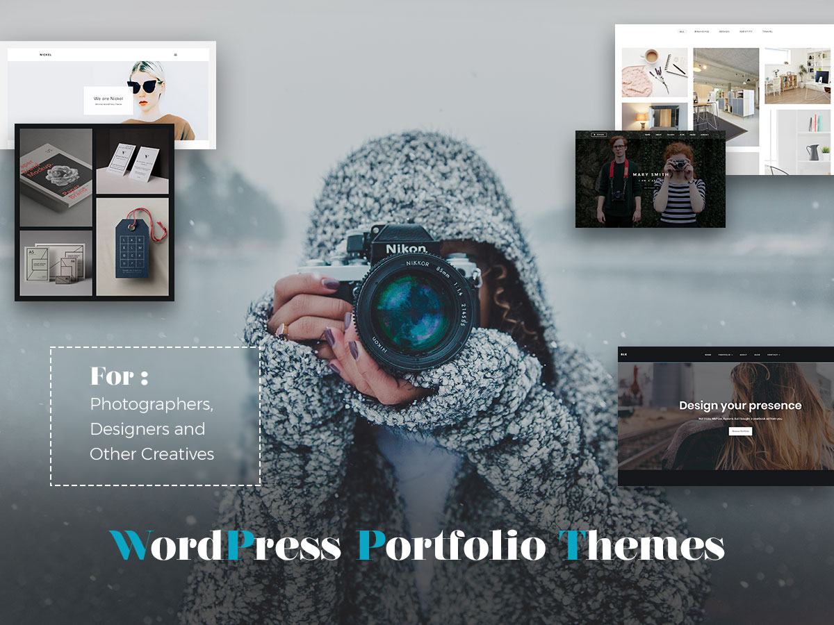 WordPress Portfolio Themes for Photographers, Designers and Other Creatives