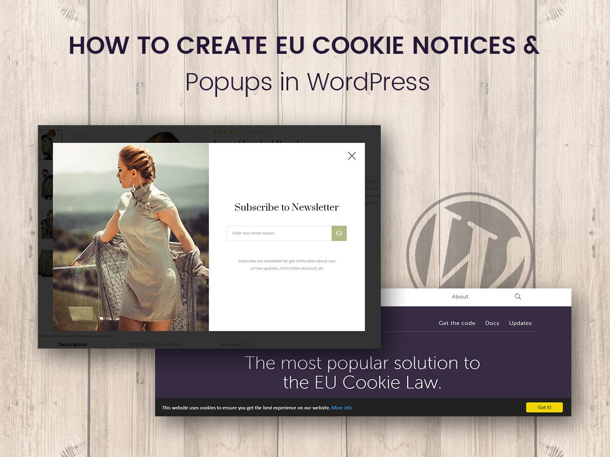 How to Create EU Cookie Notices and Popups in WordPress