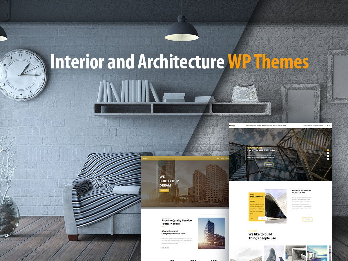 Interior and Architecture WordPress Themes for Your Stunning Projects
